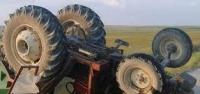 Ilgaz'da Traktör Faciası