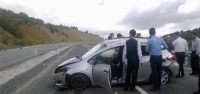 Korgun'da Trafik Kazası