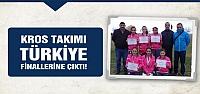Kros takımı Türkiye finallerine çıktı!