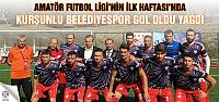 Kurşunlu Belediyespor gol oldu yağdı