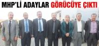 MHP'li Adaylar Görücüye Çıktı