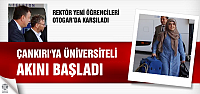 Rektör yeni öğrencileri otogarda karşıladı