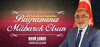 Şeker; Ramazan İslam aleminin uyanışına vesile olsun!