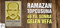 Şehit Ramazan Topçusuna anlamlı vefa