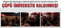 Uluyazı'da çöpü üniversite kaldırmış!