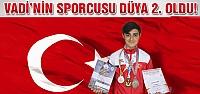 Vadispor'un sporcusu Dünya 2. oldu!
