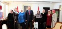 Vali Özcan, İHH gönüllülerini kabul etti