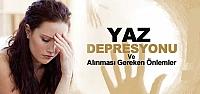 Yaz depresyonuna dikkat