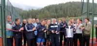 Yıldıztepe'ye yapılan futbol sahaları'nın açılışı