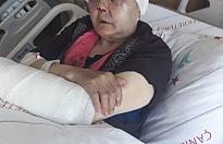Ilgaz'da yaşlı kadın feci şekilde darp edildi!