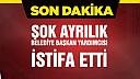 Çankırı Belediye Başkan Yardımcısı istifa etti