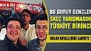 Skeç yarışmasında Türkiye birincisi oldular!