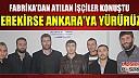Gerekirse Ankara'ya yürürüz!