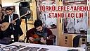 """""""Türkülerle Yarenlik"""" standı açıldı!"""