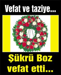 AK Parti Merkez İlçe Başkanı Hüseyin Bozun acı günü