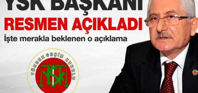YSK'dan tarihi seçim açıklaması
