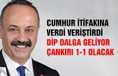 """CHP'li Atalay """"Dip dalga geliyor, Çankırı 1-1 olacak"""""""
