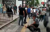 Çankırı'da nakliyat şirketi çalışanları ile ev taşıyan aile arasında kavga: 1 yaralı