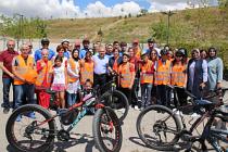 Görme Engellilerin Bisiklete Binme Hayali Gerçek oldu