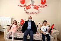 Başkan Esen'den 23 Nisan Çocuklarına  Ziyaret