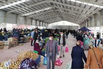 Şabanözü kapalı sebze-meyve pazarına kavuştu!