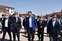 Bakan Kurum, Çerkeş'te yapımı devam projeleri inceledi!