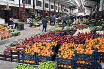 Başkent'te koronavirüs salgını ile portakal satışı rekor kırdı