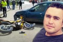 Motosiklet sürücüsü yaşam savaşını kaybetti