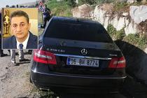 Sinop Valisi Karaömeroğlu Çankırı'da kaza geçirdi!