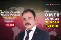Yapraklı Belediye Başkanı Ömer Güngör, Gündem Özel Programı canlı yayınına konuk oluyor.