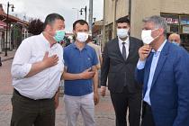 Bakan Yardımcısı Alpaslan Çerkeş'te Esnaflara projeyi anlattı