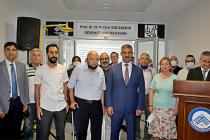 Prof. Dr. Mehmet Muhtar Kocakerim'in adı öğrenci laboratuvarında yaşatılacak!