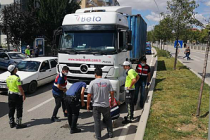 Çankırı'da yaya yolunda trafik kazası! 1 kişi öldü