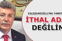 Akbaşoğlu'ndan ithal aday değilim tepkisi!