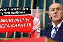 Bahçeli Çankırı MHP'yi 3. defa kapattı!