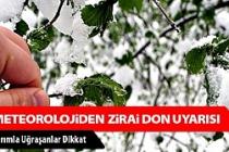 Çankırı'da Zirai Don Uyarısı