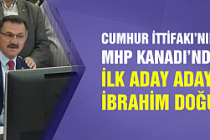 İbrahim Doğu MHP'den aday adayı oldu