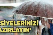 Meteorolojiden Çankırı için şiddetli yağış uyarısı!