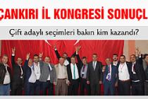 MHP Çankırı İl Kongresini bakın kim kazandı?