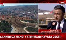 Çankırı Belediye Başkanı Hüseyin Boz A Haber'e konuştu