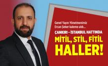 Çankırı - İstanbul hattında mitil, stil, fitil haller!