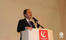 """Erbakan: """" Büyük Türkiye hedefine kaliteli nesillerle ulaşılabilir"""""""