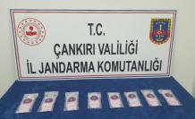 Çankırı'da, soba bacasında uyuşturucu madde bulundu