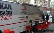 Kızılay'dan vatandaşlara kan bağışı çağrısı