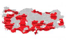 Türkiye'nin 30 büyük şehrine giriş çıkışlara yasak geldi