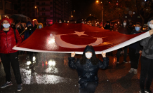 Çankırı'da yağmur altında Cumhuriyet coşkusu!