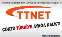 Çankırı'da İntenet bağlantısı çöktü Türkiye ayağa kalktı