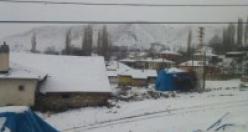 Çankırı ilçelerinden kar manzaraları!