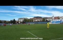 1074 Çankırı Spor'un Yozgat Spora attığı gol!