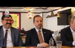 Ak Partili Salim Çivitcioğlu gazetecilerin sorularını cevapladı!